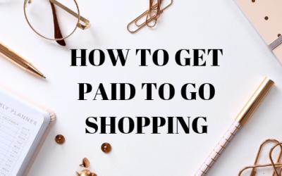 How To Get Paid To Go Shopping