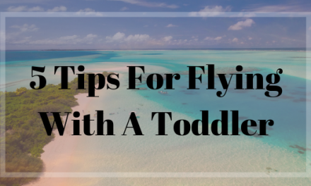 5 Tips For Flying With A Toddler